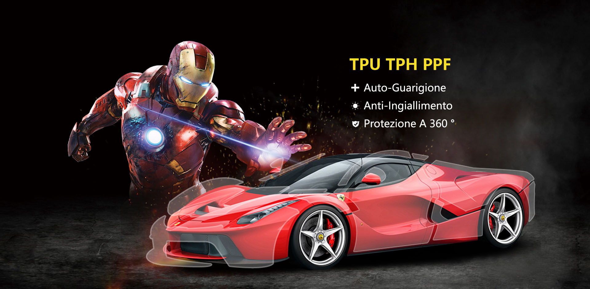 PPF TPU TPH Car Paint Protection Film