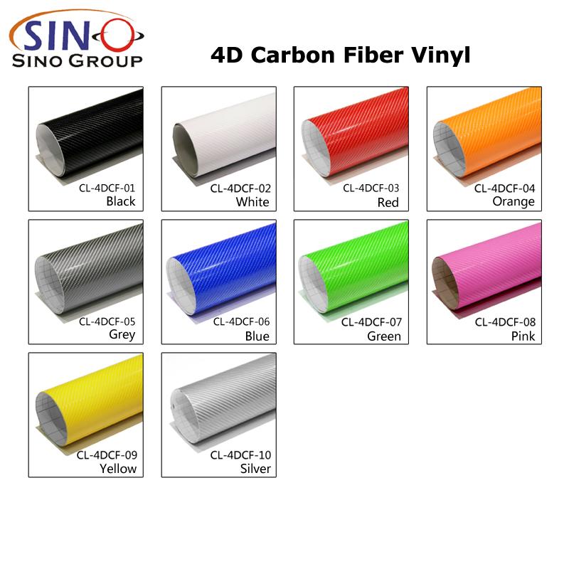 CARLIKE CL-4DCF Pellicola vinilica Super Gloss 4D in fibra di carbonio