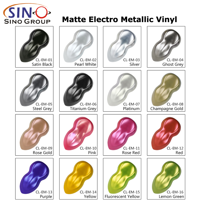 CL-EM Metallico metallizzato metallizzato opaco