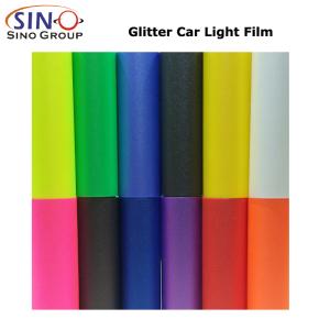 CARLIKE CL-HL-GL Glitter auto faro fanale posteriore Tint Film