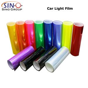 CL-HL-NM Fanale posteriore faro auto Tint Film