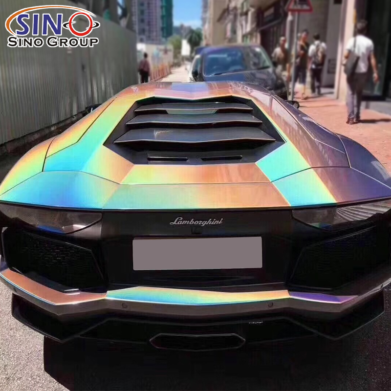 CARLIKE CL-IL Adesivo in vinile per auto con effetto glitter a forma di iridescenza