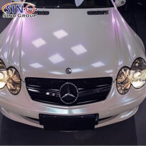 CL-MW Magia Camaleonte Pellicola a cambiamento di colore per auto in vinile lucido opaco