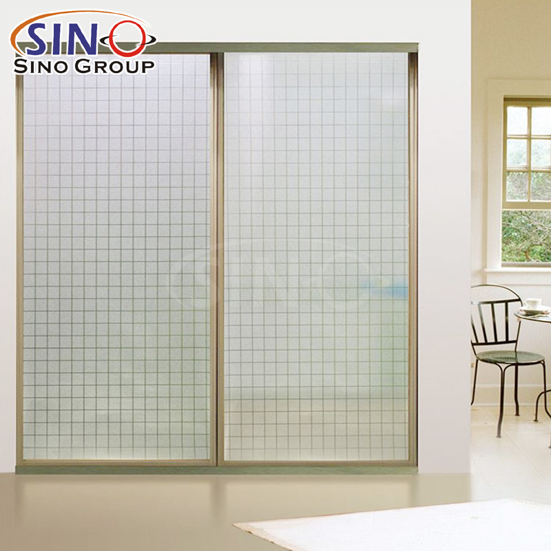 Film vinilico per finestre in vetro trasparente opaco