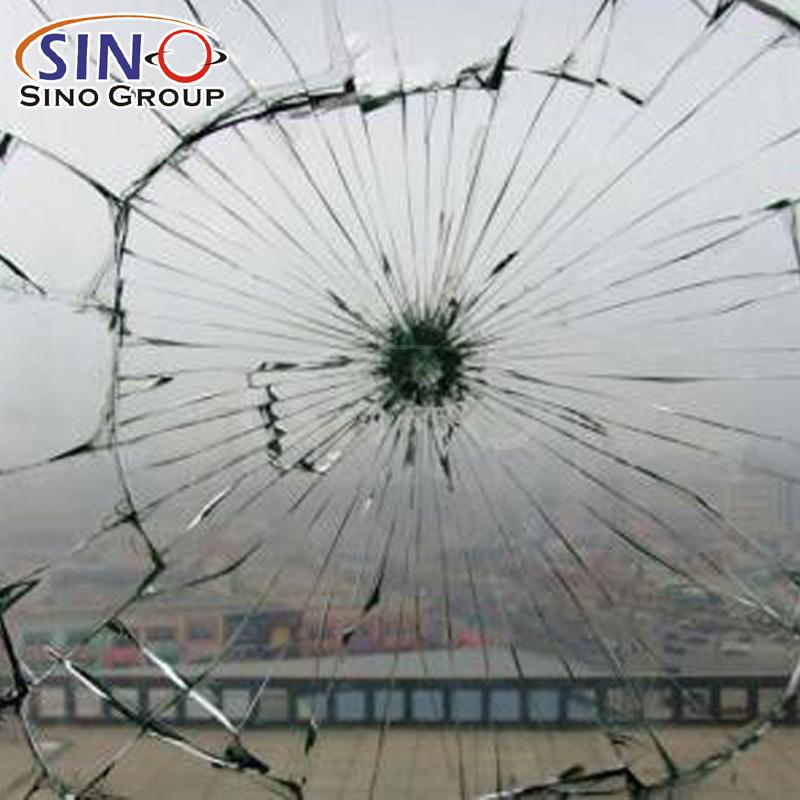 2Mil 4Mil 8Mil 12Mil Pellicola protettiva per vetri per finestre di sicurezza a prova di proiettile